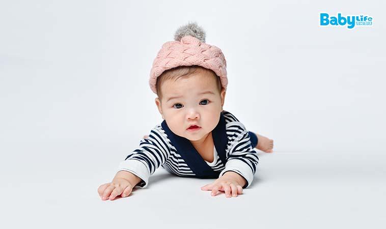 手眼並用讓寶寶頭好壯壯