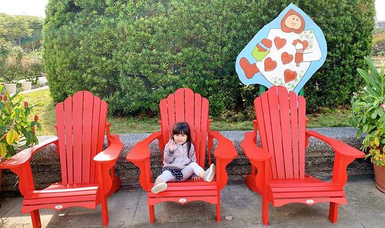 台北新生公園玫瑰園,都市中的夢遊仙境