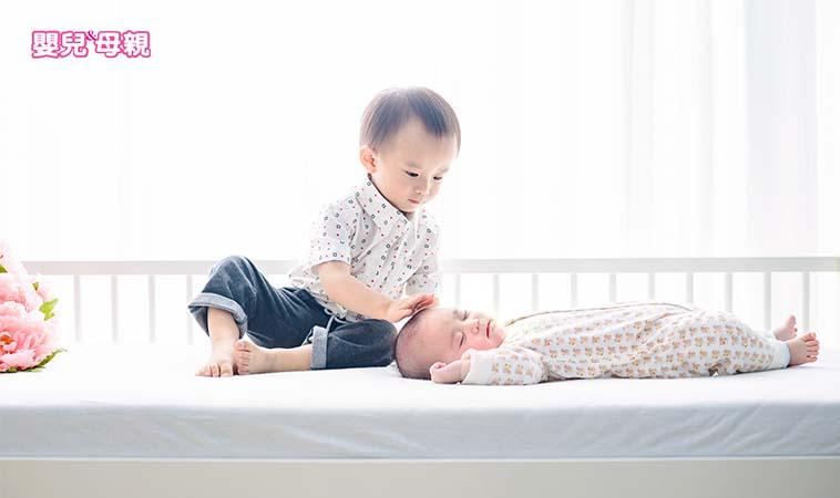 避免手足紛爭,從懷孕就可開始引導大寶