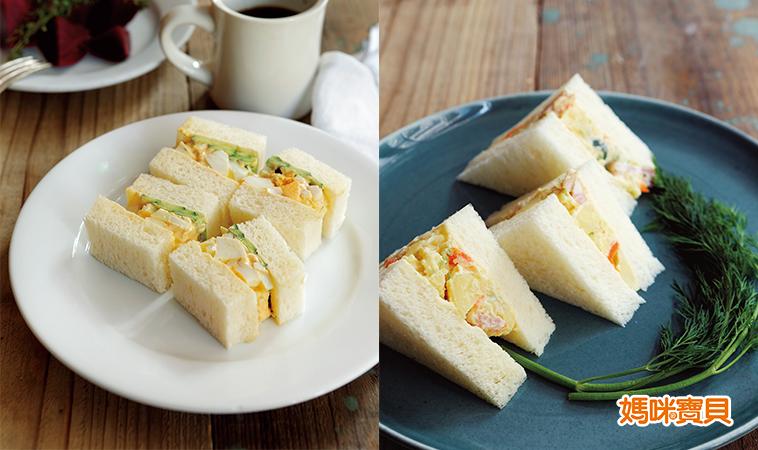 供應孩子體力的能量來源,營養早餐──三明治