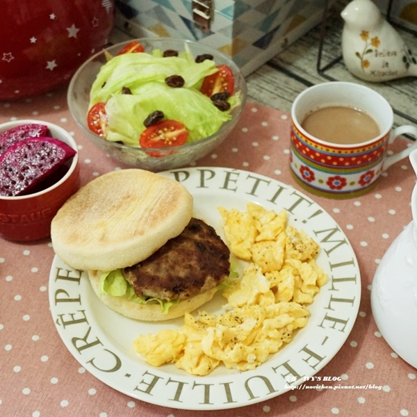【簡單做出早午餐】自製手工漢堡排&保存方法