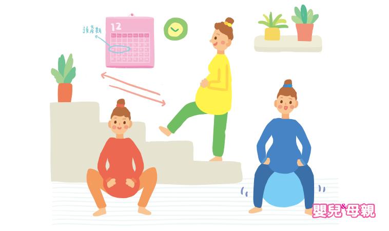 坐瑜珈球、刺激乳頭、吃辣…,寶寶遲到了,這些催生方法有效嗎?