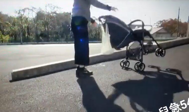 別把嬰兒車當購物車!11月寶寶倒頭栽險腦震盪