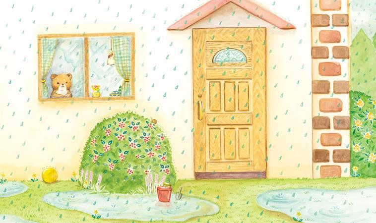 下雨天取消活動又怎樣?跟著小熊媽媽這樣做重拾孩子笑容