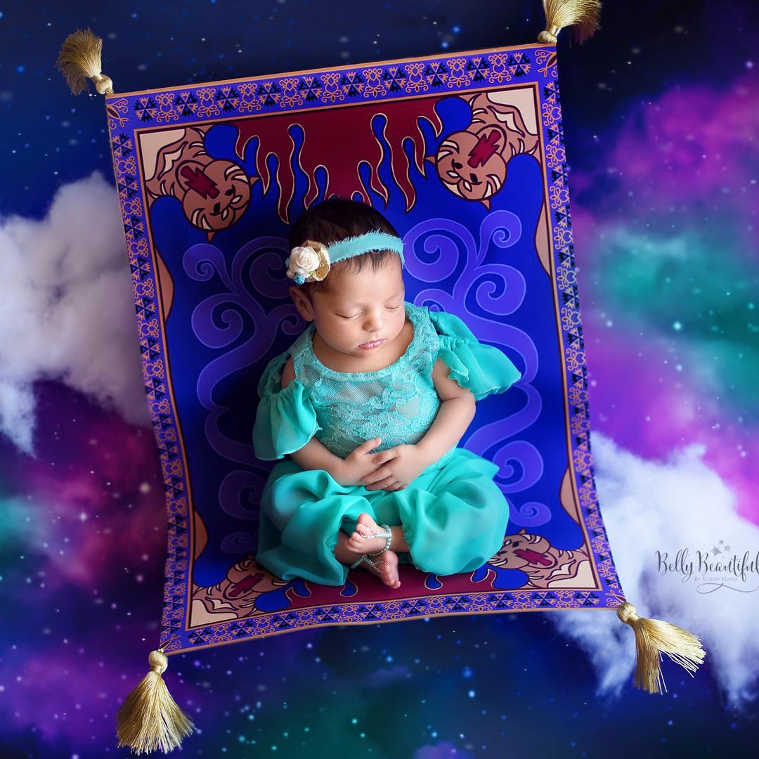 寶寶寫真:阿拉丁神燈-茉莉公主