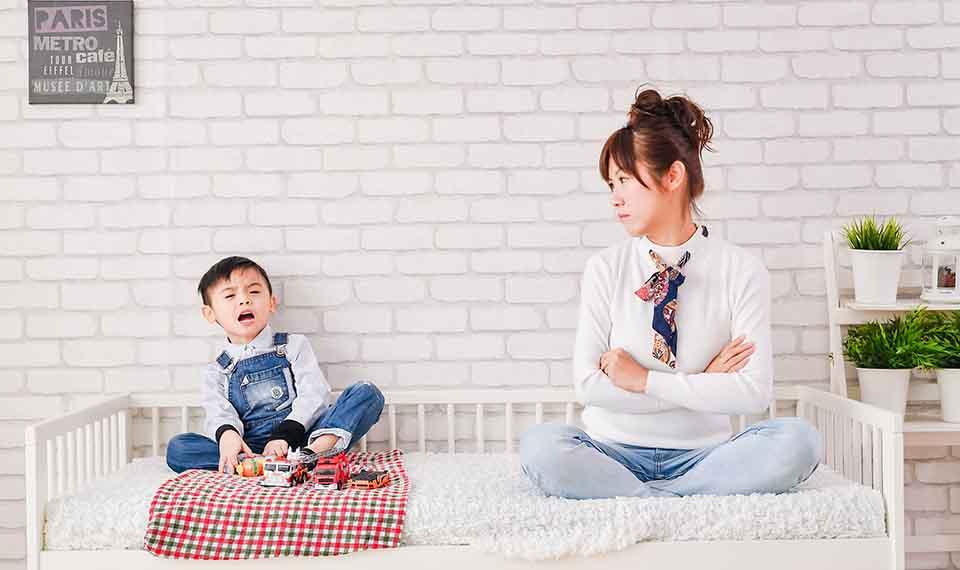 跳開「孩子哭—我生氣」的互動模式!