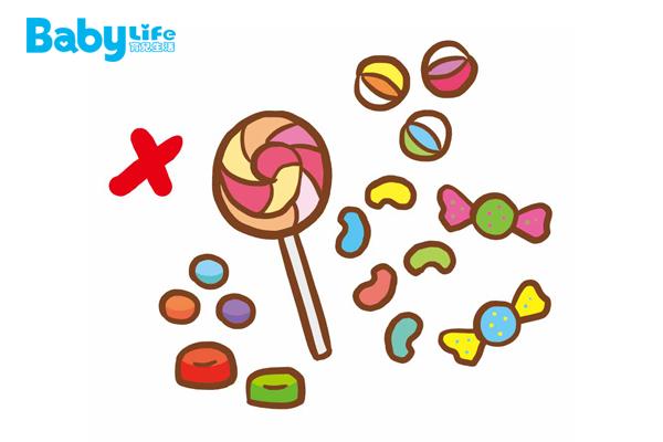 糖果之中的色素,將造成孩子的過動症