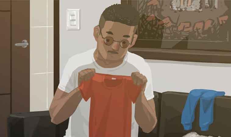 教孩子摺衣服,下場是還得重新摺孩子的衣服