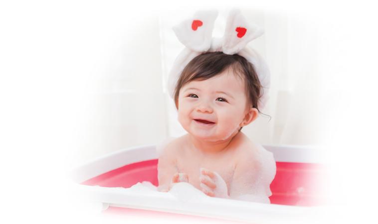 讓寶寶天天享受泡泡澡     洗出健康細嫩肌