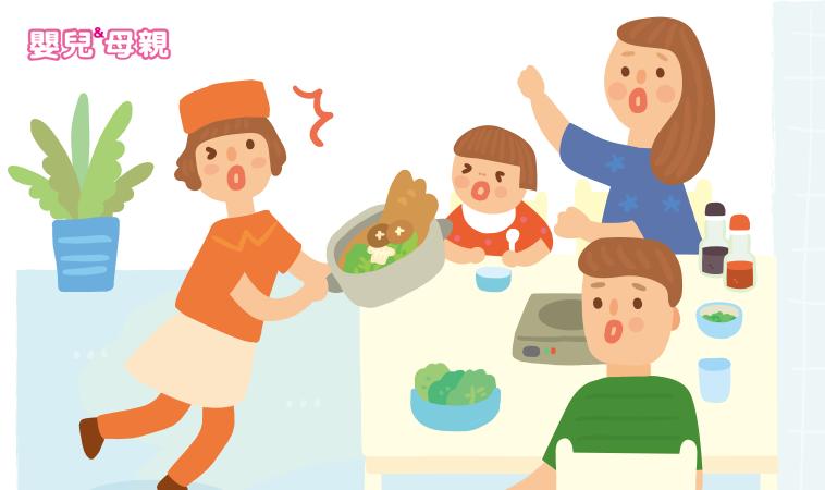 帶寶貝外食 這3種意外最常見—燒燙傷、異物哽塞、一氧化碳中毒