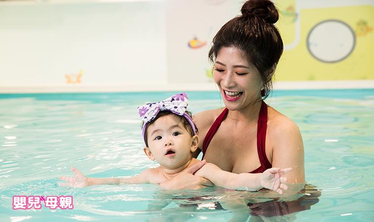Baby go swimming,0歲開始讓寶貝愛上游泳!