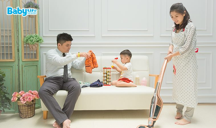 照顧家人、帶小孩也應該納入家事之一,找出自己的步調