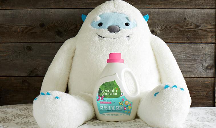 寶寶衣服如何洗?美國「淨七代」給予寶寶最溫柔的呵護 專屬寶寶的洗衣精 讓寶貝常保健康柔嫩肌