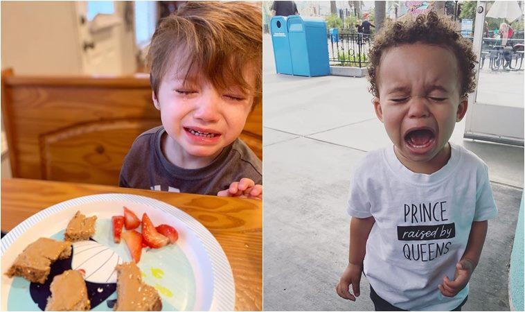 孩子你為什麼傷心?11個讓爸媽黑人問號的哭點瞬間
