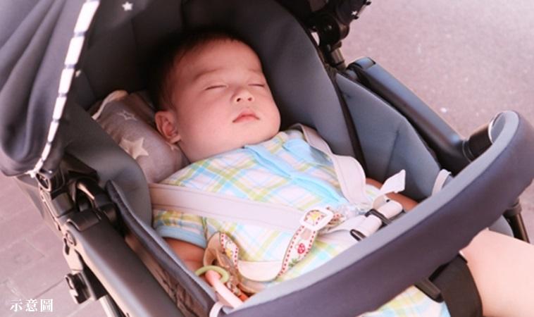 嬰兒推車全罩住可以遮陽?醫警告:易脫水、中暑