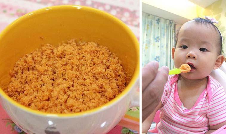 寶寶版鮭魚鬆,開胃好下飯