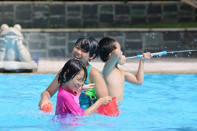 親子游泳樂