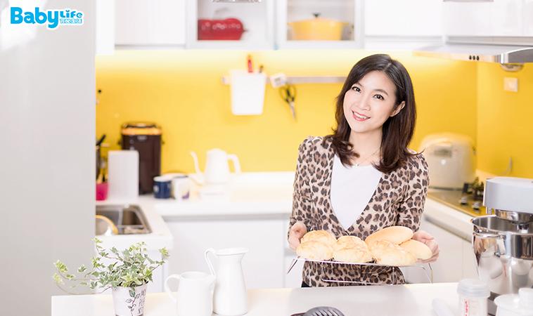 做麵包就是療癒~ 辣媽Shania:時間允許就充實自己!