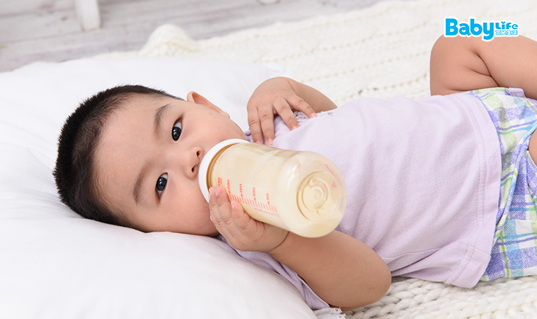 母乳/配方奶/副食品 6階段寶寶月齡VS「飲」「食」比例