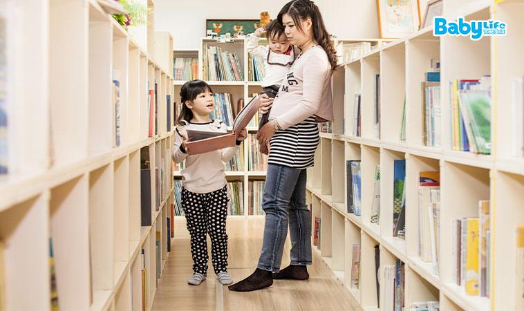 親子同享共讀之樂