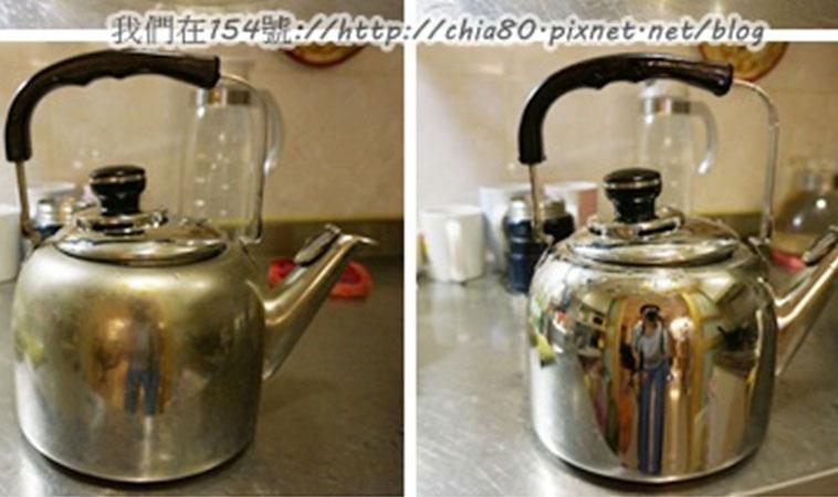 利用小蘇打加鹽巴,輕鬆去除茶垢和水垢