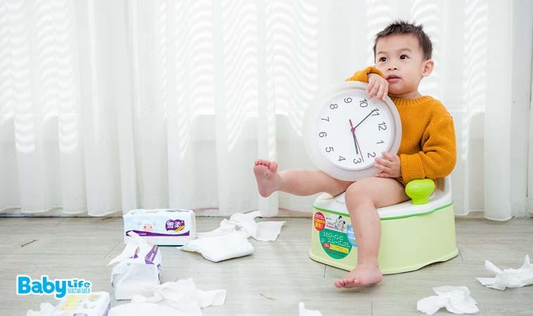 孩子準備好戒尿布了嗎?先做這個測驗再決定!
