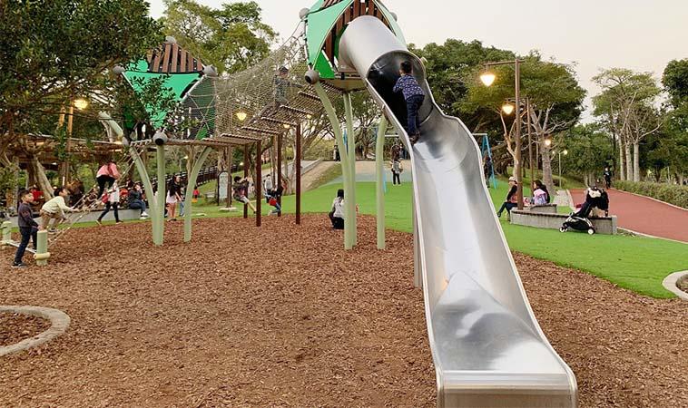 南港兒童遊戲場,森林系公園讓孩子也瘋狂