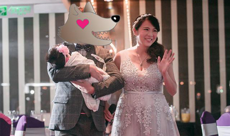 從戀人變父母真的不容易,結婚三週年快樂!