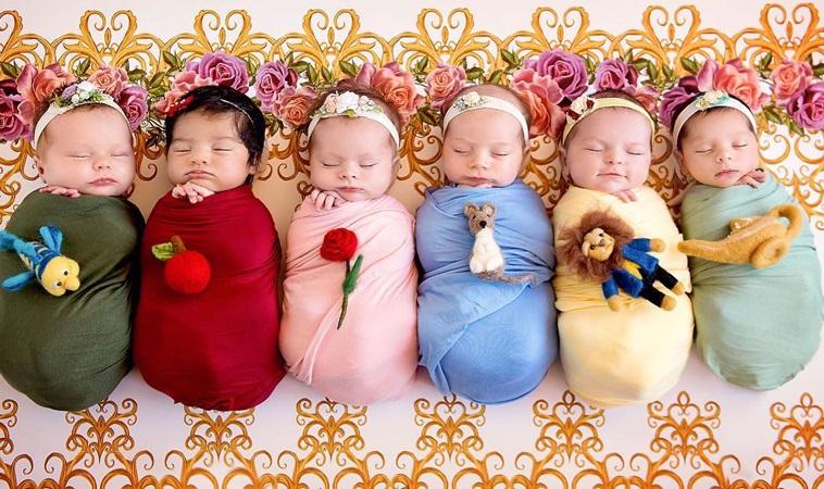 萌度爆表!6個寶寶化身為迪士尼小公主