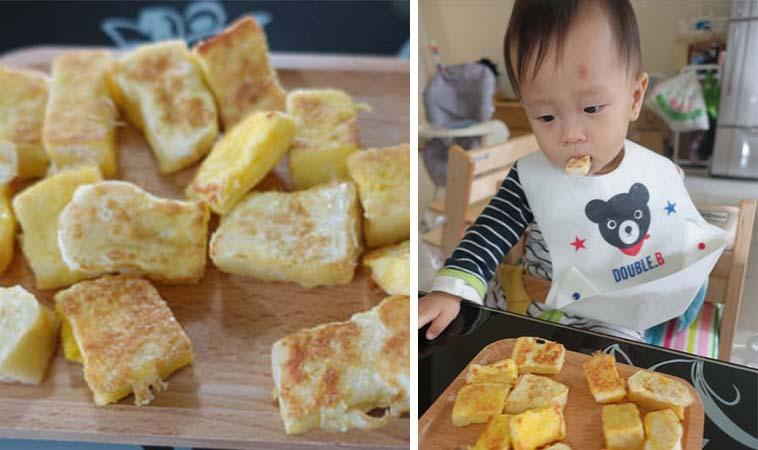 手指食物DIY,寶寶版法式小方塊
