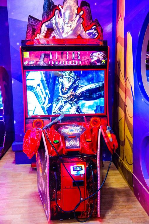 Alien Armageddon game at Magic Planet Al Dana Mall Ajman