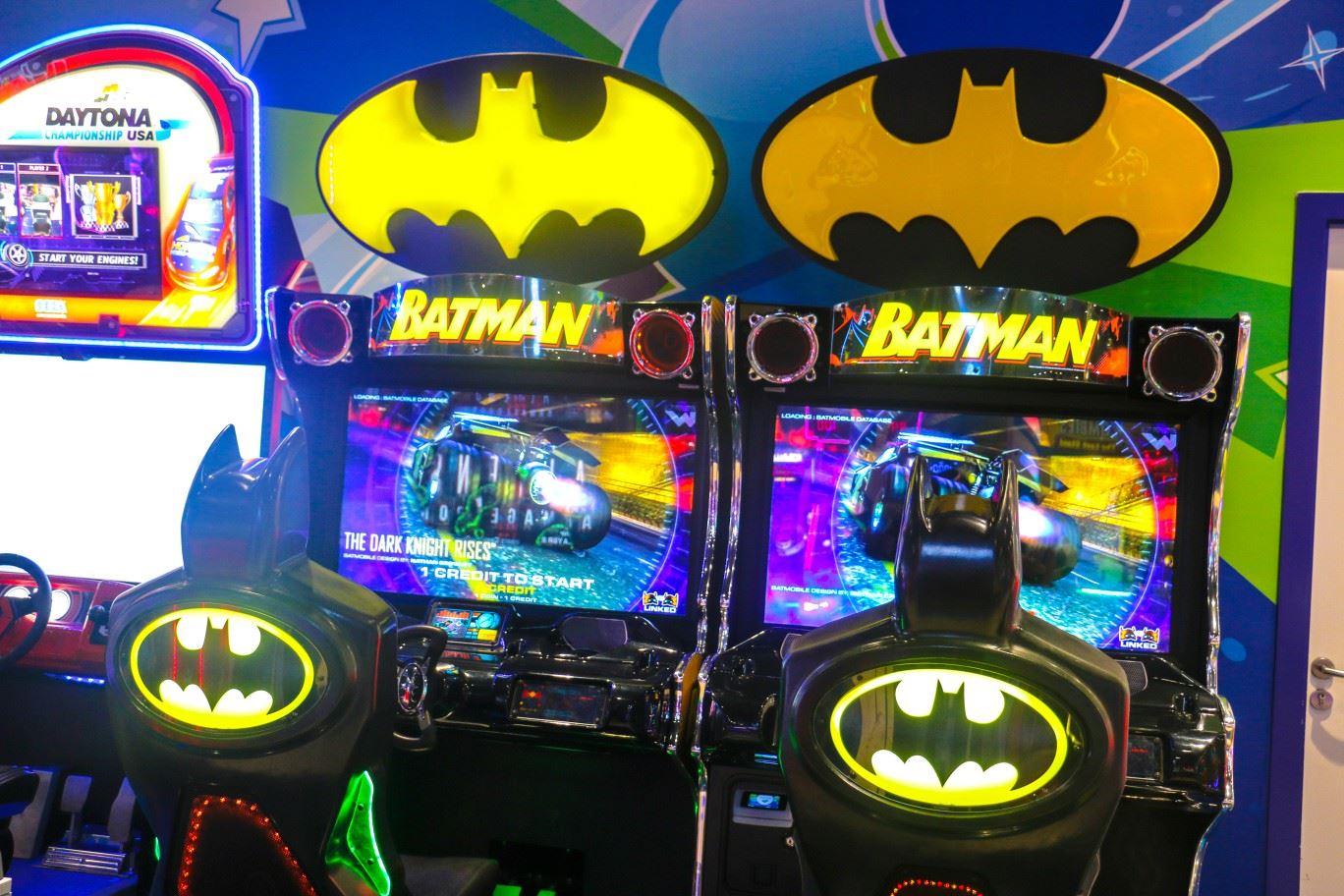 Batman game at Magic Planet Al Jimi Mall