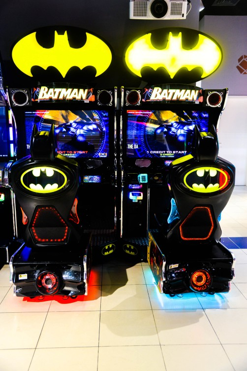 Batman Arcade Game at Magic Planet