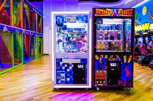 Bling King game at Magic Planet City Centre Shindagha