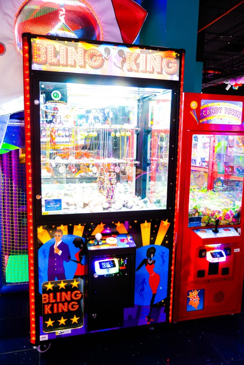 Bling King game at Magic Planet City Centre Me'aisem