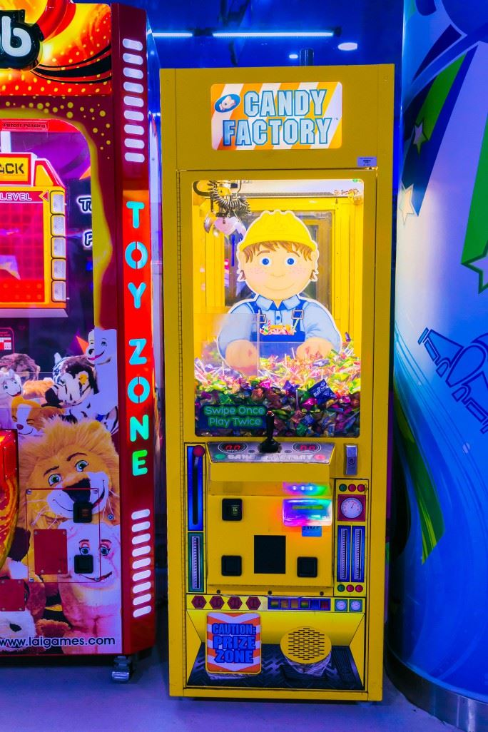 Candy Factory game at Magic Planet City Centre Deira