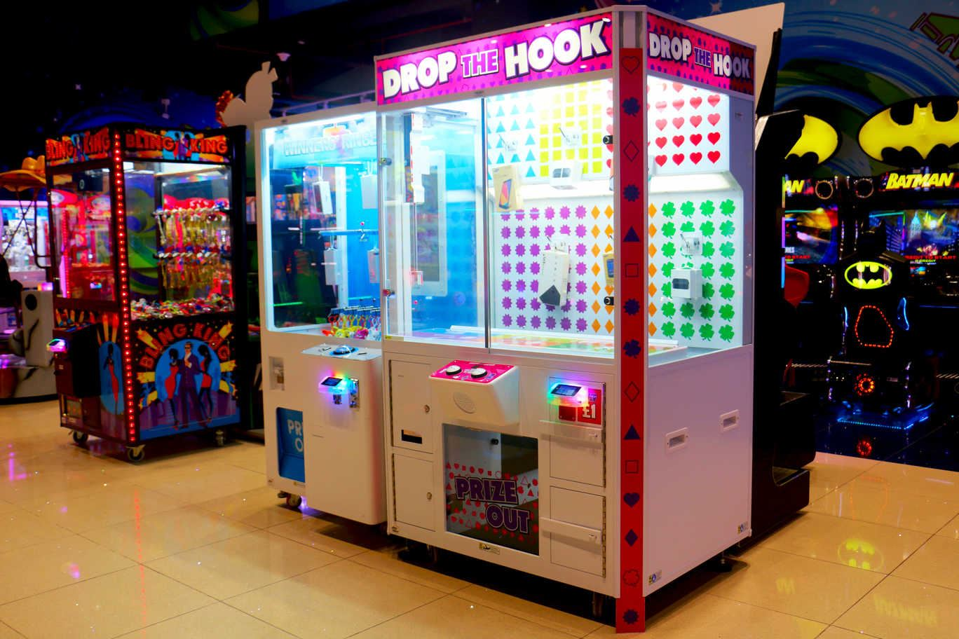 Drop the Hook game at Magic Planet City Centre Shindagha