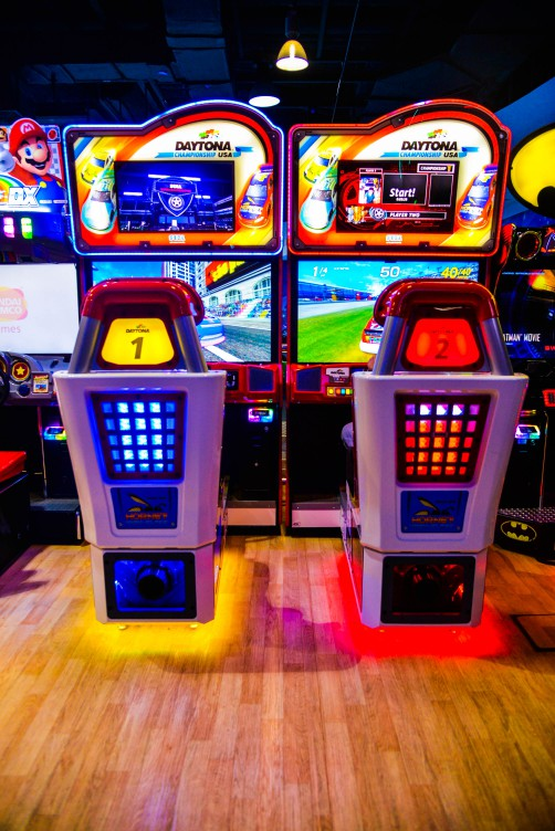 Daytona game at Marina Mall Abu Dhabi
