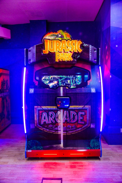 Jurassic Park DX game at Magic Planet City Centre Mirdif South