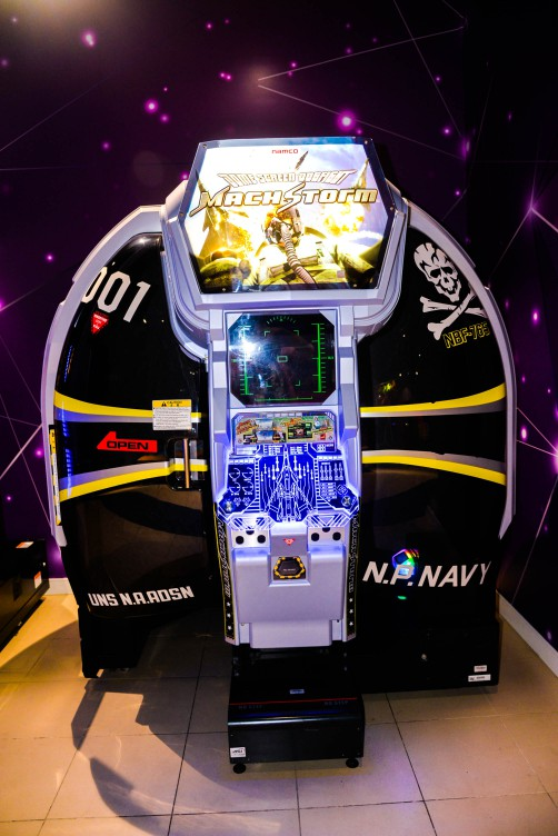 Mach Storm Arcade Game at Magic Planet