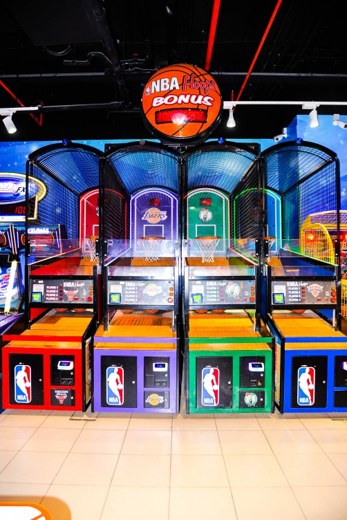 NBA Hoops at Magic Planet
