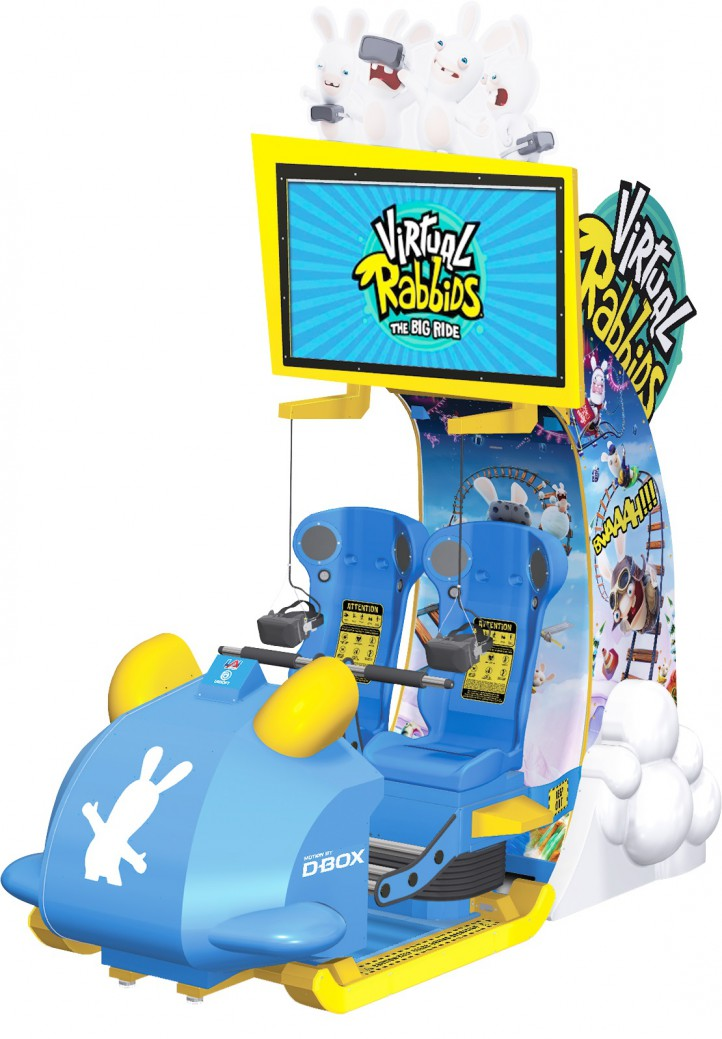 VR Rabbids at Magic Planet