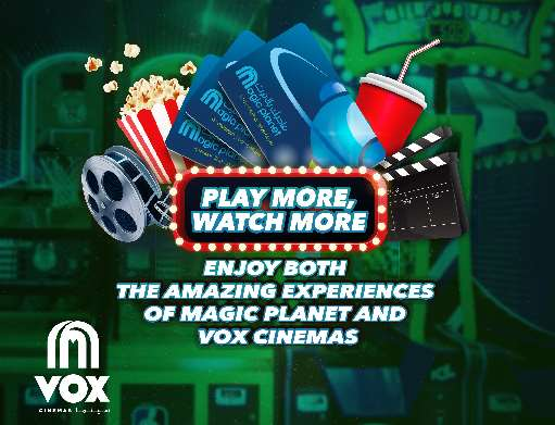 50 OMR VOX Cinemas Pack