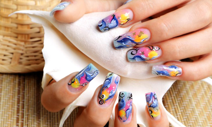 Where nails meet art in New Delhi cover pic