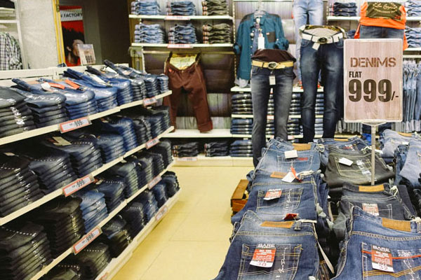 Brand Factory for Men to find branded clothes at cheaper rate