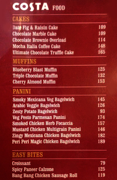 Cc S Coffee Food Menu