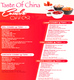 Taste of China, Connaught Place (CP), New Delhi- Food Menu 3