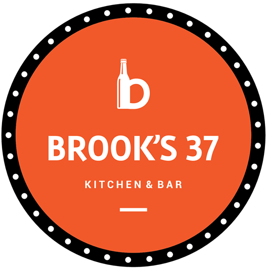 Brook's 37 Bar and Kitchen, Brookefield, Brookefield logo