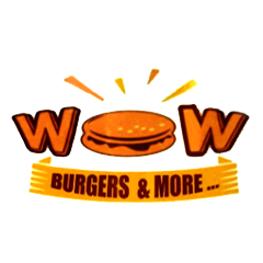 Wow Burgers & More, Kalyan West, Kalyan West logo