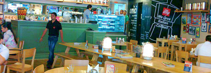 Amici Cafe, DLF Cyber City, Gurgaon cover pic